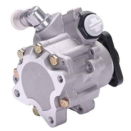(SCITOO Power Steering Pump Compatible For 2002-2005 Audi A4 Base/Cabriolet, 2002-2006 Audi A4 Quattro Cabriolet/Avant Base 21-134 Power Assist Pump)