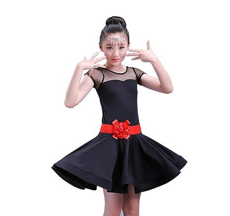 Vestido de Baile Latino para niños, Traje de Baile Latino ...