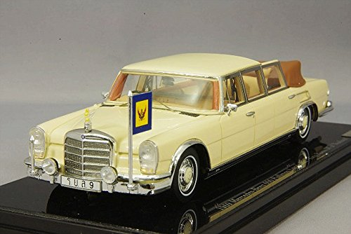 1/43 メルセデスベンツ600 プルマン Landaulet 1969 タイ国王 ラーマ9世 TSM144340