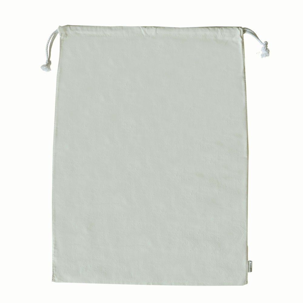 Augbunny 100% Cotton Canvas Travel Laundry Bag, 2-Pack Linluk B-03
