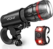 Bike Light - Comes With FREE TAIL LIGHT(Limited Time) - Tools-Free Installation in Seconds - The Best Headligh