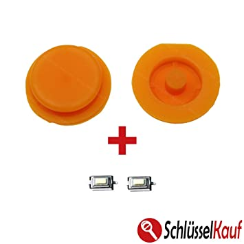 2x Smart Buttons Rubber Yellow Key Button Keypad Rubber Amazon Co