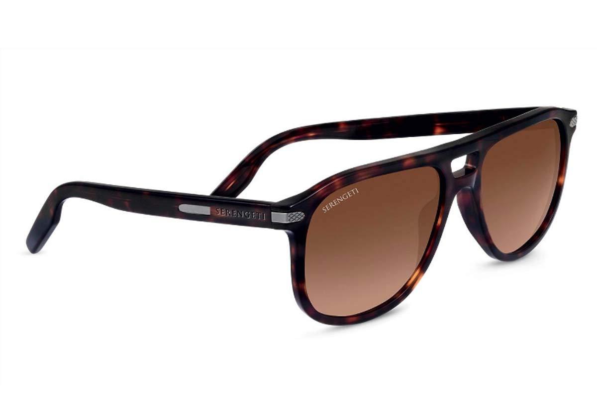 Amazon.com: Serengeti Gafas de sol Giacomo 8470 Dark Havana ...