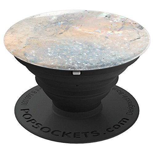 Opal Gemstone Rhinestone Agate Crystal Rock - PopSockets Grip and Stand for Phones and Tablets