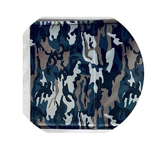 Pet Cooling Mat Non Toxic Pet Cooling Pad Cushion Summer Dog Cool Mat Bed Soft Cool Cat House Mat Pet Bed Cooler Mat Pad Gel,Camouflage,50x65cm