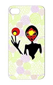 Alien Energy Art Design Illustration Red For Iphone 5s Case Cover