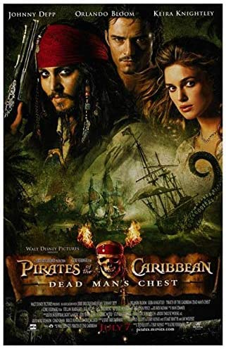 Pirates Of The Caribbean Dead Man S Chest Original Movie Poster At Amazon S Entertainment Collectibles Store