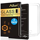 Ailun Screen Protector Compatible with iPad Air 1 - iPad Air 2 - iPad Pro - [2Pack] - 9.7 inch - 2.5D Tempered Glass - [Apple Pencil Compatible] Anti-Scratch - Case Friendly-Siania Retail Package