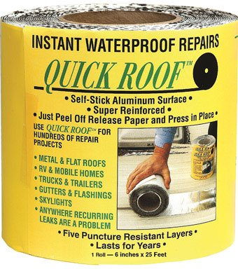 Quick Roof Self Stick Instant Waterproof Repair /& Flashing QR625