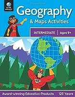 Rand McNally Intermediate Geography & Map Activities Workbook