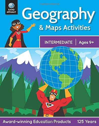 Rand McNally Intermediate Geography & Map Activities Workbook