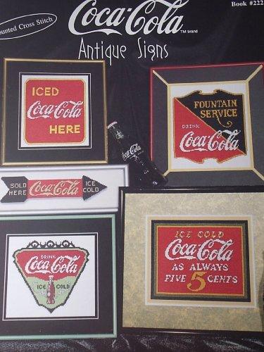 Coca-Cola Antique Signs Counted Cross -