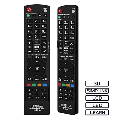 Gvirtue Universal Replacement Remote Control for Almost All