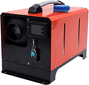 Whwxq Luft Diesel Heizung 5000w 12v Auto Heizung All In One Maschine Mit Lcd Schlüsselschalter Und Fernbedienung Haushalt Standheizung Für Vans Auto Anhänger Boote Sport Freizeit