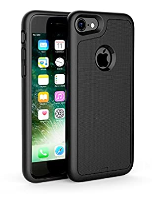 iPhone 7 Receiver Case, Use with Wireless Charger Pad Yootech iPhone 7 Wireless Charging Case Receiver Cover Case[Shock Absorption][Flexible Lightning Connector] ONLY for iPhone 7