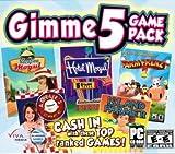 5 Great Games: Vacation Mogul, Hotel Mogul, Farm Frenzy 2, Island Fever & Amelie's Cafe