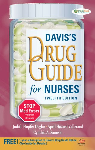 Sacral Shape (Davis's Drug Guide for Nurses)
