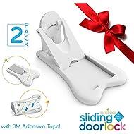 Sliding Door Lock for Child Safety - Baby Proof Doors...