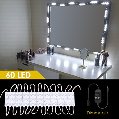 diy lighted makeup vanity. Hollywood Style Lighted Makeup Vanity Led Mirror Kit  Greenclick Diy Light Kits For Cosmetic Make Up Dressing Table Set Mirrors 4 LED Bulbs IP44