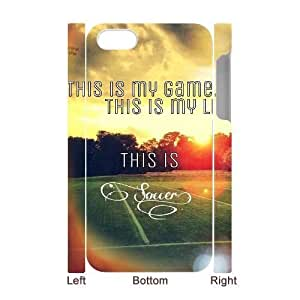 meilinF000Football CUSTOM 3D Phone Case for iphone 5/5s LMc-68430 at LaiMcmeilinF000