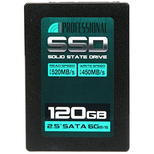 Inland Professional 120GB SSD 3D NAND SATA III 6Gb/s 2.5″ 7mm Internal Solid State Drive (120GB)
