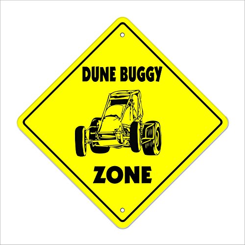 Cortan360 Dune Buggy Crossing Sign Zone Xing 8