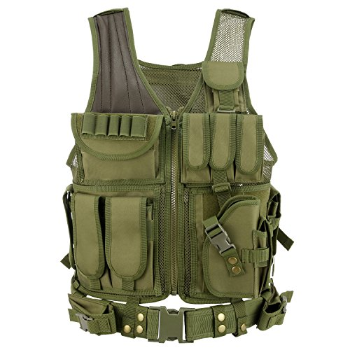 Barbarians Tactical Molle Vest Military Airsoft Paintball Ve
