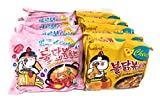 #10: Samyang Chicken Fried Noodles (10 Packs 5x Carbo & 5x Cheese) Hot Fusion Select