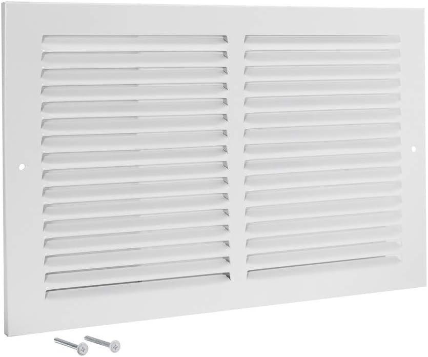 EZ-FLO 61643 Steel Sidewall and Ceiling Return Air Filter Grille, 14