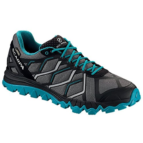 Scarpa Mens Proton Gtx Trail Chaussure De Course Trail Runner Grey / Abyss