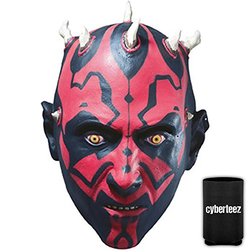 Star Wars Darth Maul Deluxe Sith Lord Men's Costume Mask + Coolie - Lord Sith Costume