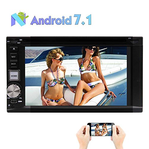 Android 7.1 Car Stereo CD DVD Player - Double Din In: Amazon.co.uk: Electronics