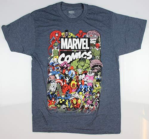 a2fa194996fd5c Marvel Men s Comics Crew T-Shirt