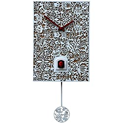 German Cuckoo Clock Quartz-movement Modern-Art-Style 11.40 inch - Authentic black forest cuckoo clock by Rombach & Haas