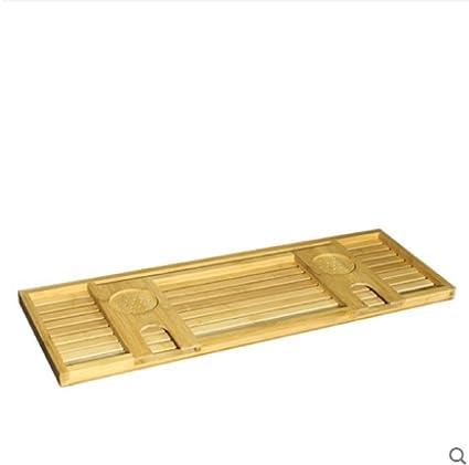 Extensible Bandeja De Baño Bambu,Bandejas De Baño De Bambú para Bañera con Soporte De