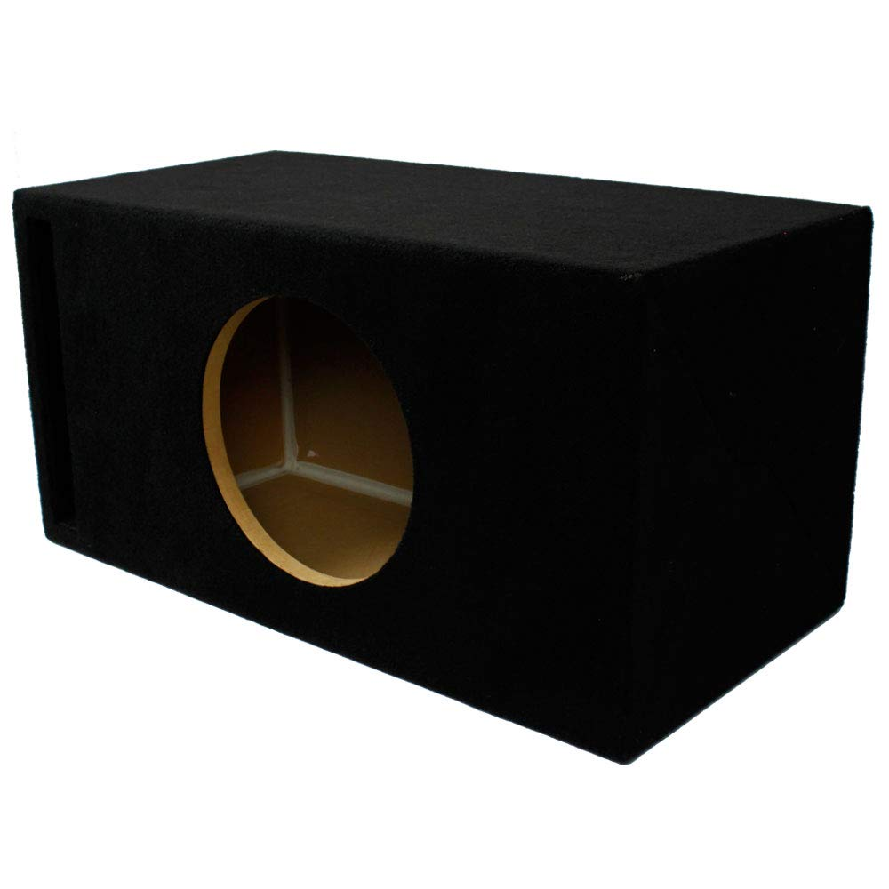 LAB SlapBox 1.30 ft³ Ported/Vented MDF Sub Woofer Enclosure Box for Single Alpine 10'' Type R-Series (R-W10D2 / R-W10D4) Car Subwoofer | 3/4'' Premium MDF Construction | Made in USA