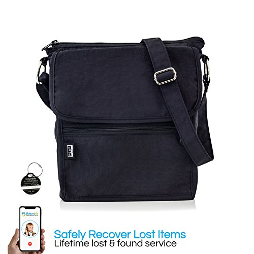 Travel Crossbody Purse - Hidden RFID Pocket - Includes Lifetime Lost ... 78274d8a71a40