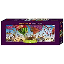 Heye Ballooning Loup Panorama Puzzles (1000-Piece, Multi-Colour) by Heye