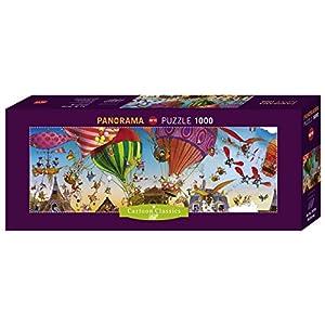 Heye 29756 Mongolfiere Puzzle Panoramico 1000 Pezzi