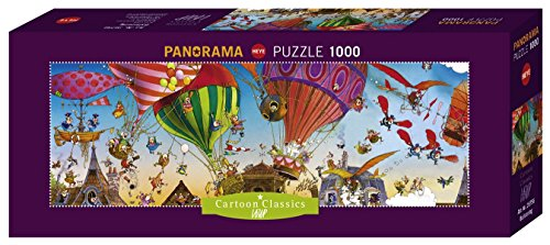 Heye Ballooning 1000 Piece Jean-Jacques Loup Panoramic Jigsaw Puzzle