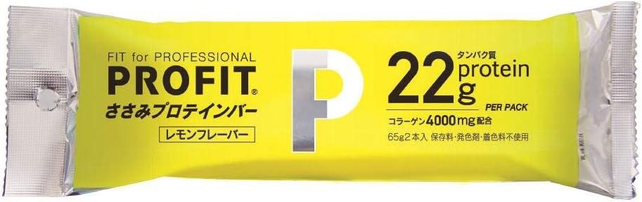 丸善 PROFITささみプロテインバーレモン味