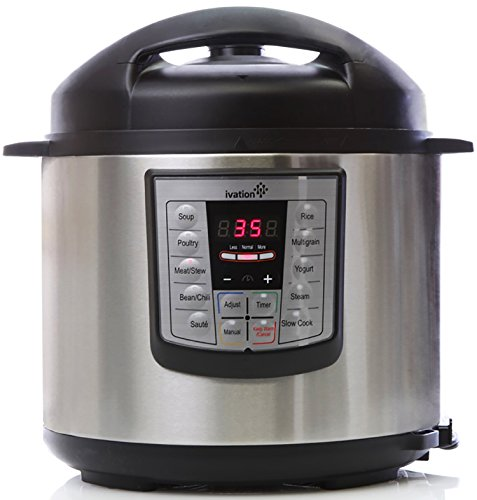 Ivation Programmable Multi Function Electric Stainless