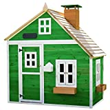 Garden Games Limited Whacky Mansion Playhouse Pre Painted Wooden Play House