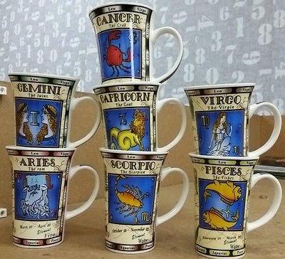 Aries Zodiac Horoscope Astrology Bone China tea coffee Mug: Amazon