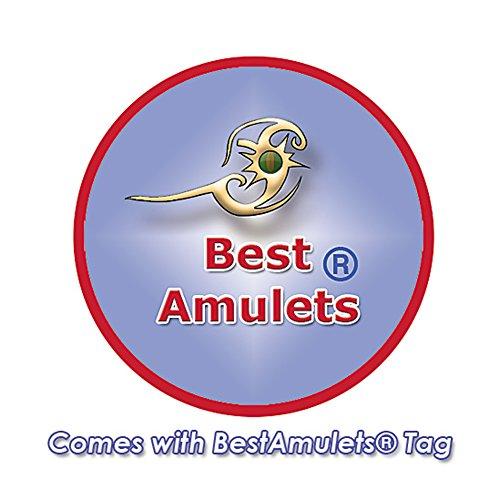 Lucky Charm Cœur gonflé en Sodalite Good Luck Protection Pouvoirs 55,9cm-Collier Femme-Pendentif Amulette