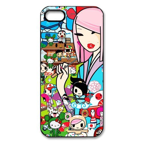 DiyCaseStore Artist Styles Cartoons Tokidoki Cocktail Party iPhone 5 5S Best Durable Cover Case