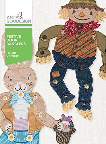 Anita Goodesign Embroidery Machine Designs CD Festive Door Danglers