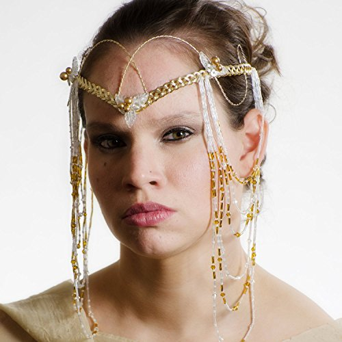 Arwen's Crown Costume (Art Nouveau Elven Boho Wedding Headdress Tiara)