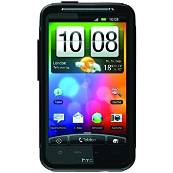 timeless design 4d498 8b0ee OtterBox Commuter Case for the HTC Desire HD - Black