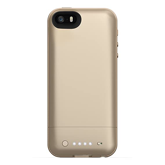 outlet store 6d725 10008 mophie juice pack Air for iPhone 5/5s/5se (1,700mAh) - Gold
